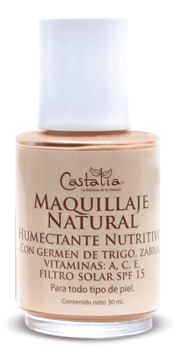 maquillaje productos 100% naturales